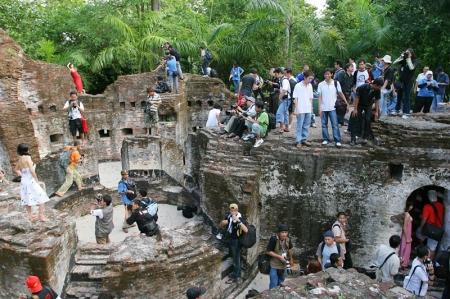 Peninggalan bersejarah Belanda di Pulau Bidadari