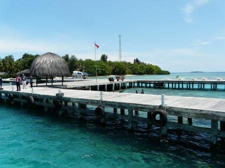 Salah satu pemandangan Pulau Pantara yang sangat indah