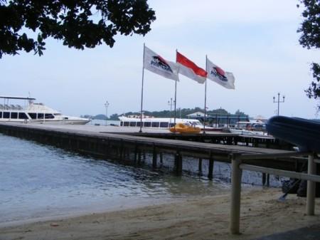 Salah satu pemandangan Pulau Putri yang menawan