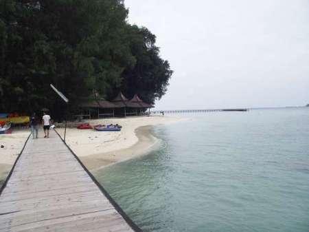 Salah atu pemandangan Pulau Sepa nan elok